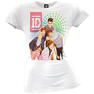One Direction - Color Test Juniors T-Shirt