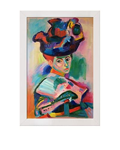 Henri Matisse Woman With A Hat Framed Hand-Painted Reproduction