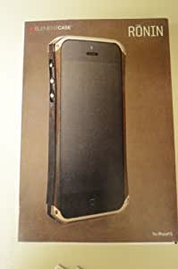 Element Case Ronin Fe for Iphone 5 - Nickel/ziricote Wood W/leather Back & More