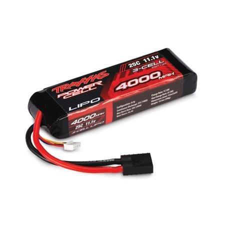 Traxxas 25C 11.1V 3S 3-Cell 4000mAh LiPo Battery Pack
