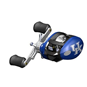 NCAA Kentucky Wildcats Fishing Reel, Right Handed