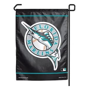 Florida Marlins 11x15 Economy Garden Flag