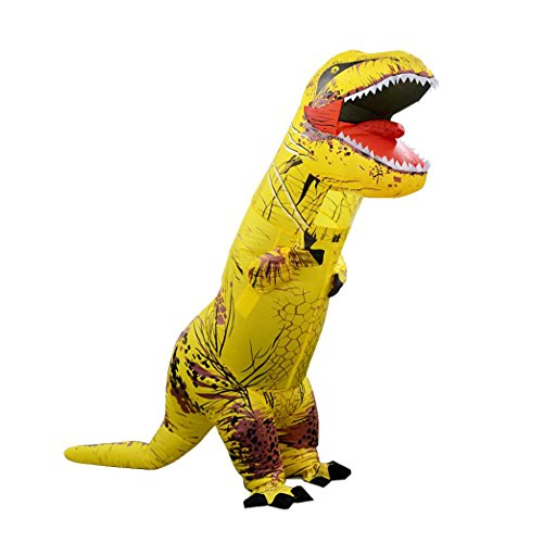 [Inflatable T-Rex Costume, Keepfit Men's Costumes Adult Size Dinosaur T-Rex Costume] (Elsa Once Upon A Time Costume)