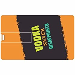 Vodka Credit Card 8GB Pen Drive
