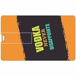 Vodka Credit Card 8GB Pen Drive