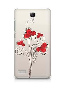 Amez designer printed 3d premium high quality back case cover for Xiaomi Redmi Note 4G (Colors patterns bright)