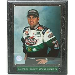 Bobby Labonte unsigned Nascar Champion Interstate 8x10 Photo Plaque Interstate... by Hall of Fame Memorabilia