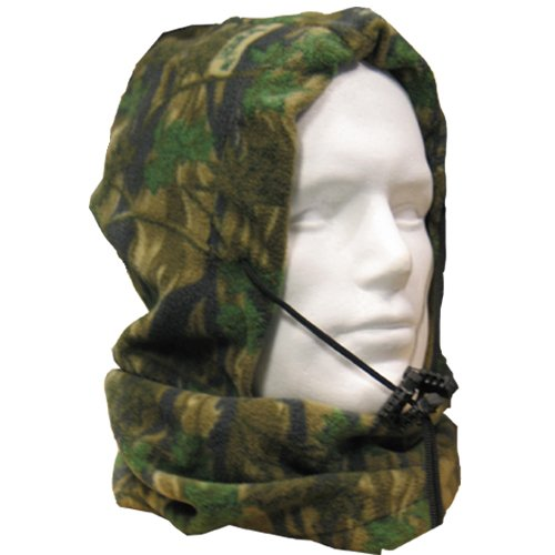 camo fishing, shooting, outdoors, snood / scarf