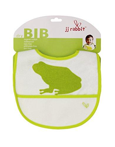 JJ Rabbit Dry Bib, Frog, 3-18 Months