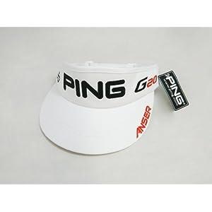 Ping Bubba Watson Visor G20 i20 - White