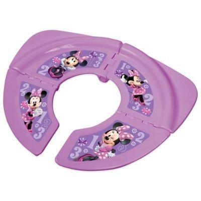 Disney ' Minnie Folding Travel Potty Seat With Storage Bag - 1