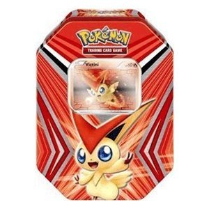 Pokemon Black & White - 2012 Collectors Tin Set - V for VICTINI