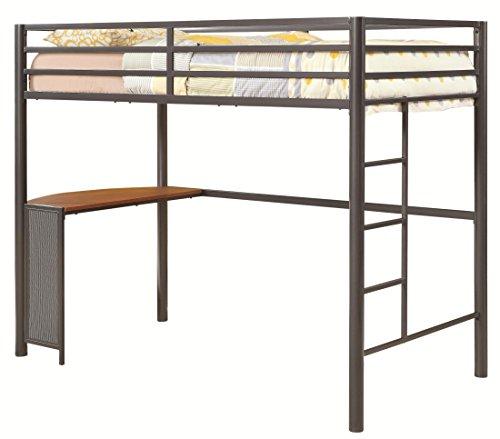 Coaster Home Furnishings Bunk Bed, Gunmetal front-18302