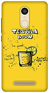 The Racoon Lean Lemon Tequila Boom hard plastic printed back case / cover for Xiaomi Redmi Note 3