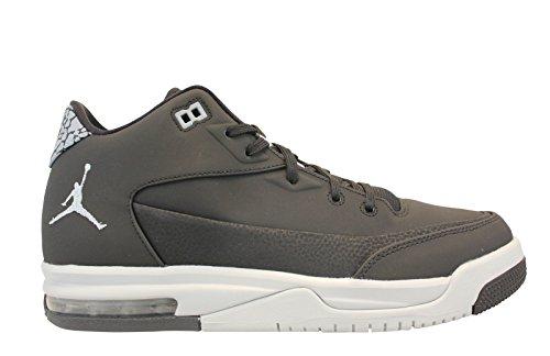 Nike Jordan flight origin 3 bg - Scarpe da basket, Uomo, colore Nero (black/metallic silver-pure platinum), taglia 38
