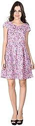 Shibori Women's Dress (Ds6028Co_Xl, Purple, X-Large)