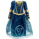 Disney - original Costume /robe - Déguisement Merida de Rebelle pour enfant - taille 7 - 8 années