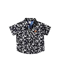 WOWMOM STAR FISH PRINTED H/S SHIRT
