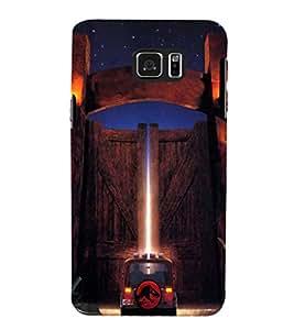 EPICCASE Jurassick world Mobile Back Case Cover For Samsung Galaxy Note 5 (Designer Case)