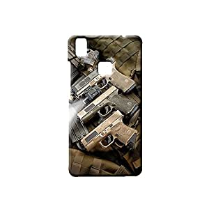 Bluedio Designer Printed Back Case / Back Cover for VIVO V3 MAX (Multicolour)