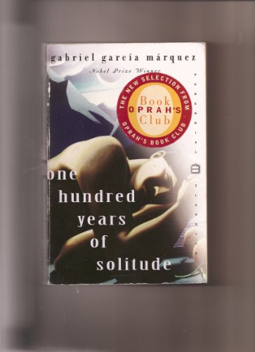 One Hundred Years of Solitude 1998 Perennial Classic paperback Oprah\'s Book Club sticker on front