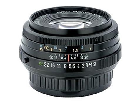 Pentax Objectif standard 43 mm f/1,9 Limited Noir