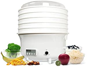 Healthy Chef 4-in-1 - Dehydrator, Steamer, Rice Cooker, Yogurt Maker - By Lexen Products