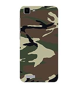 ifasho Designer Phone Back Case Cover Vivo Y27 :: VivoY27L ( Pink and Blue Checks Pattern )