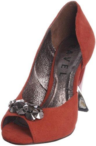 Ravel Women's Gallivant Orange Open Toe Rls234 6 UK
