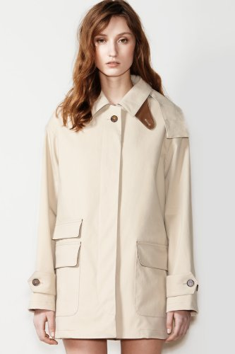 Fashion Show Cotton Hooded Anorak Jacket