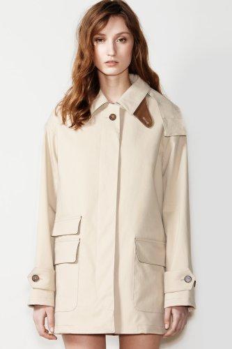 Fashion Show Cotton Hooded Anorak Jacket