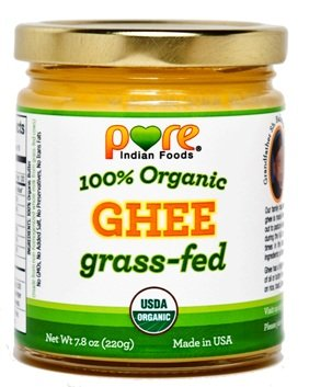 Grassfed Organic Ghee 7.8 Oz - Pure Indian Foods(R)