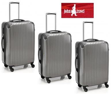 Tolley-Koffer-Set 3-tlg., 4 Rollen, TSA-Schloss,