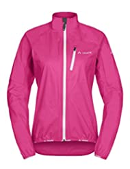 Vaude Drop III rain jacket womens Ladies pink Size 40 2015