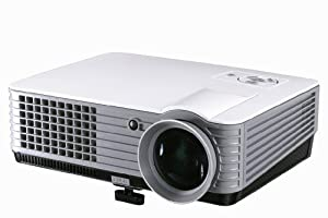 VVME V09 LED HDMI Projector 1080p HD Compatible (Native WVGA 800 x 480) For Home Cinema, Movie, Video Games
