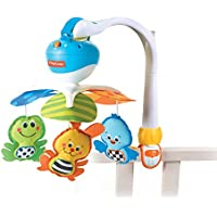 Tiny Love Take Along Animal Friends Electronic Mobile (Blue)