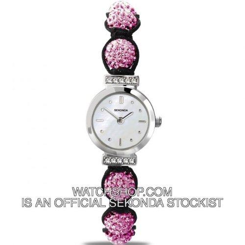 Sekonda Ladies Pink Crystalla Watch