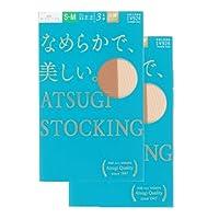 (アツギ)ATSUGI ATSUGI STOCKING なめらかで美しい 〈3足組2セット〉