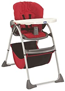 Chicco Happy Snack Highchair (Red)
