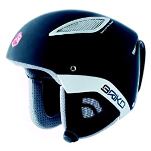 Briko Dakota Ski Helmet (Matt Black, 52cm)