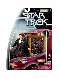 "TRELANE Star Trek:The Original Series Warp Factor Series 4 Action Figure from the Episode ""The Squire of Gothos"""