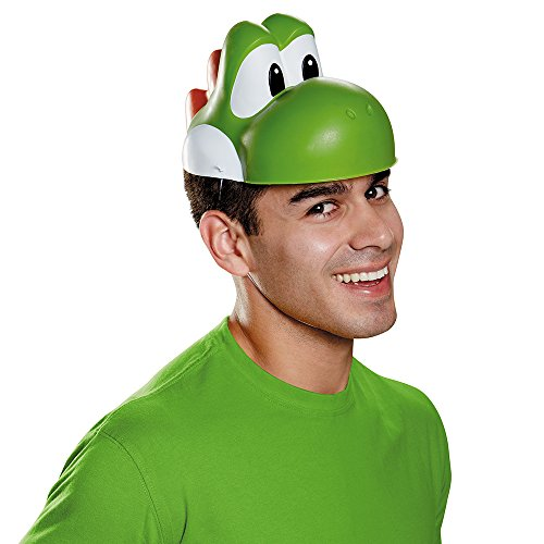 Disguise Men's Yoshi Mask Costume Accessory - Adult