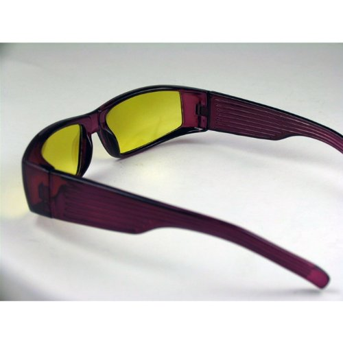 Purple Stripe Night Vision Glasses