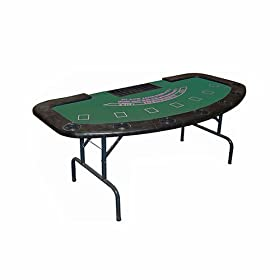Trademark Poker Full Size Folding Blackjack Table