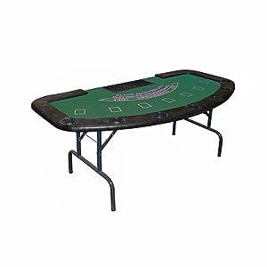 Trademark Poker Full Size Folding Blackjack Table by Trademark Poker