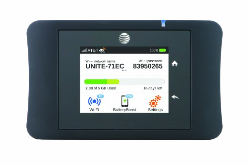 at t unite pro 4g lte mobile wifi hotspot at t 606449101201. Black Bedroom Furniture Sets. Home Design Ideas