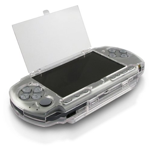 eForCity Clip on Crystal Case Compatible with Sony PSP 3000, Clear