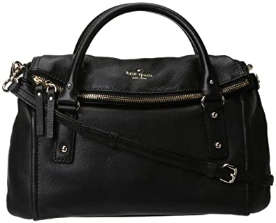 Kate Spade New York Cobble Hill Small Leslie Convertible Satchel,Black,one size