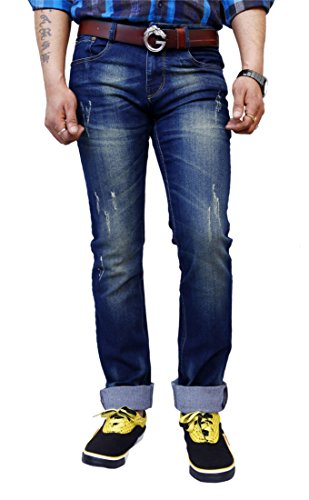SUPER-X Ripped Fit Men's Jeans