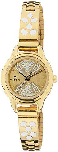 Titan-Dark-Cream-Dial-Watch-For-Women-2401YM04